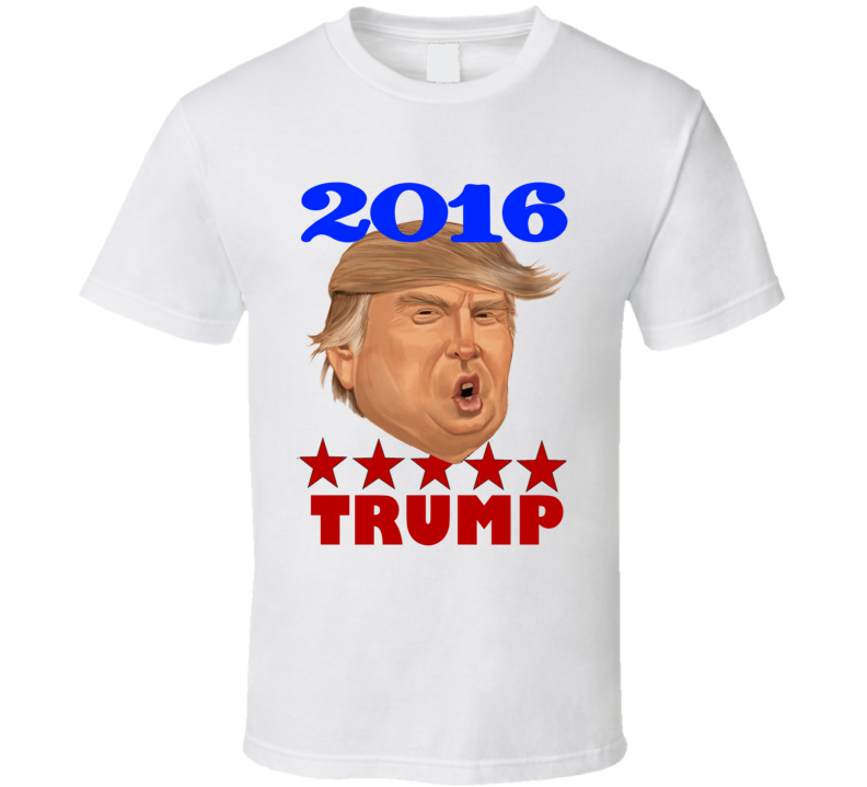 Donald Trump for president 2016 Trump supporter tshirt graphic tees