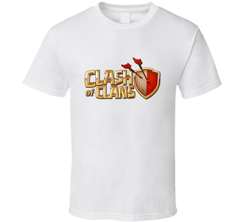 clash of clans app game gems goblin T Shirt