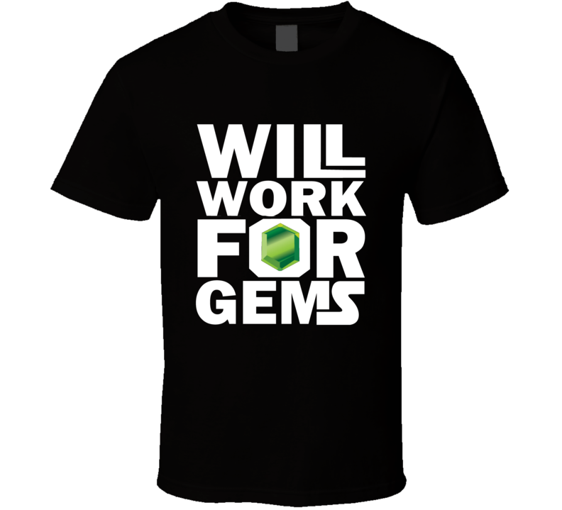 clash of clans app game will work for gems funny goblin T Shirt