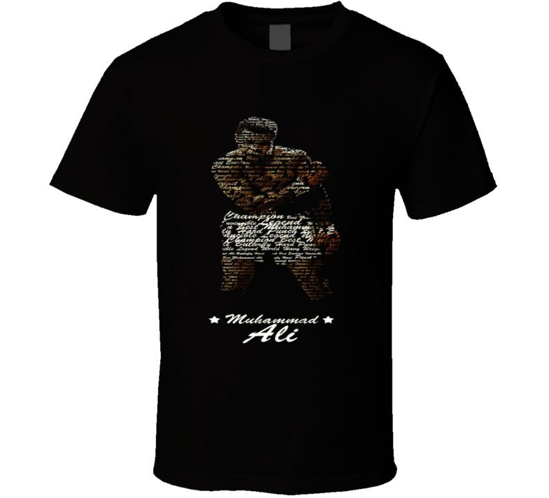 Muhammad Ali the greatest graphic T Shirt