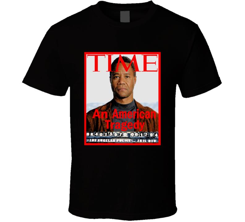 the people vs oj time magazine mug shot tshirt