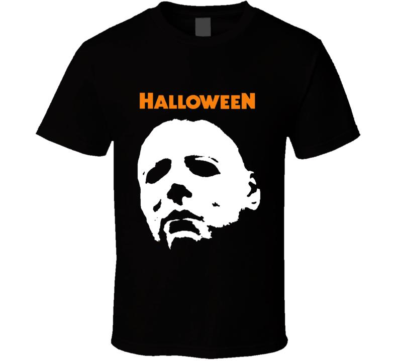 michael myers halloween slasher tshirt