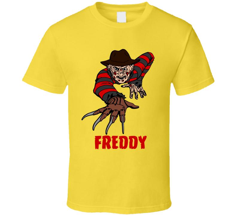 freddy krueger nightmare on elm street tshirt