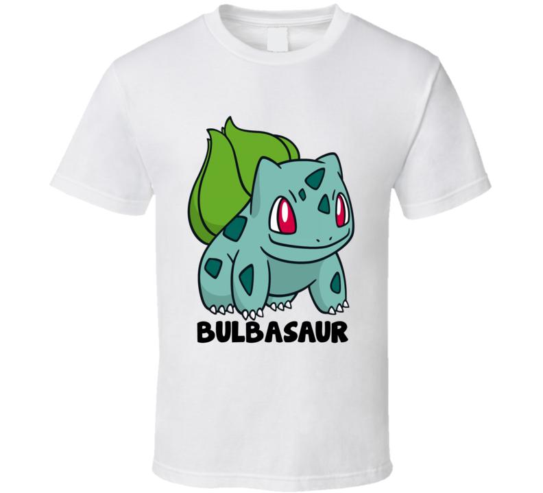 pokemon go bulbasaur tshirt