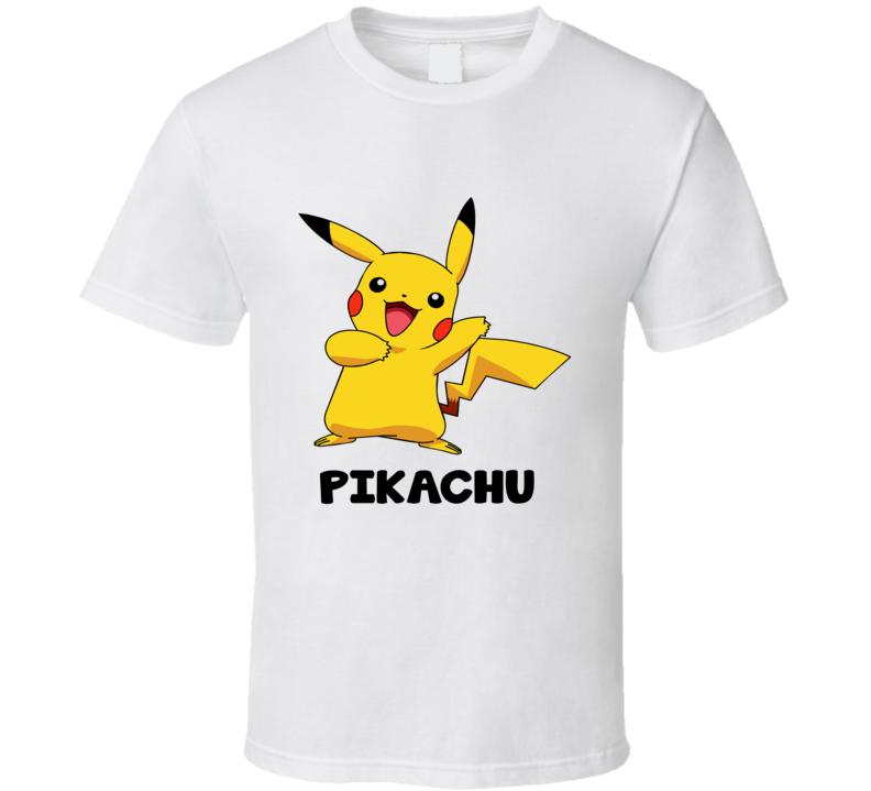 pokemon go pikachu tshirt