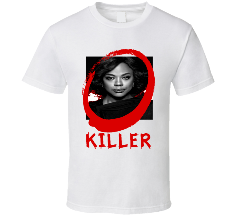 how to get away with murder annalise keating killer poster tshirt