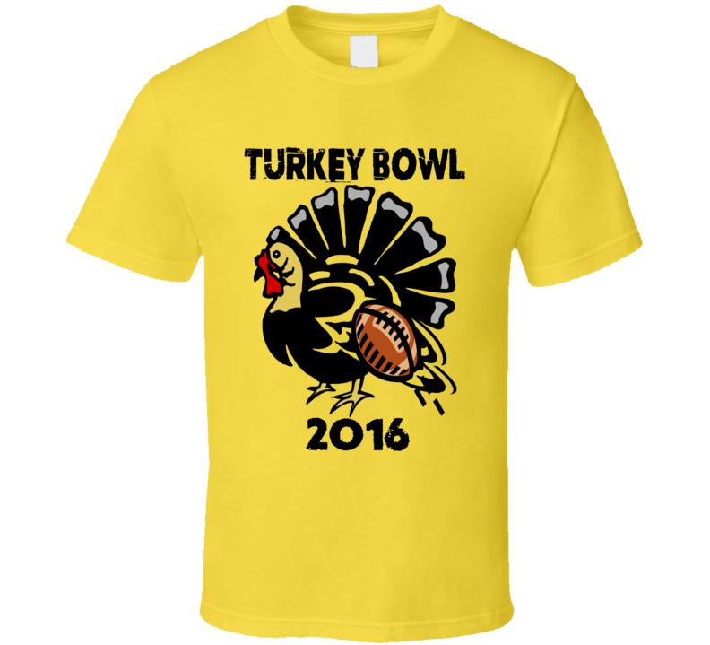 turkey bowl 2016 graphic tee tshirt