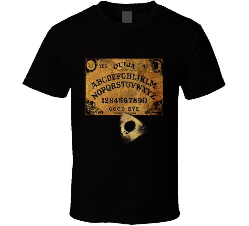 ouija board graphic tshirt