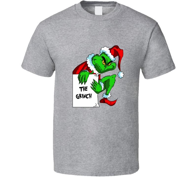 The Grinch who Stole Christmas Graghic T Shirt