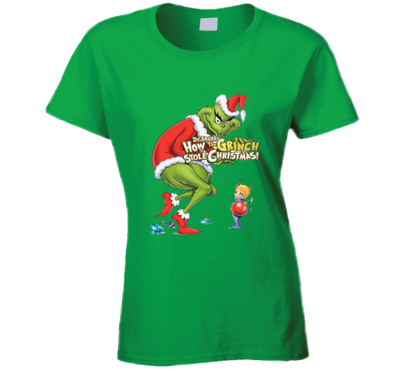 How the Grinch Stole Christmas Graphic T Shirt