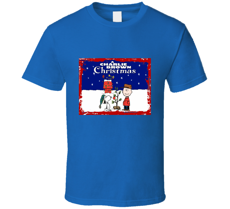 A Charlie Brown Christmas Graphic T Shirt