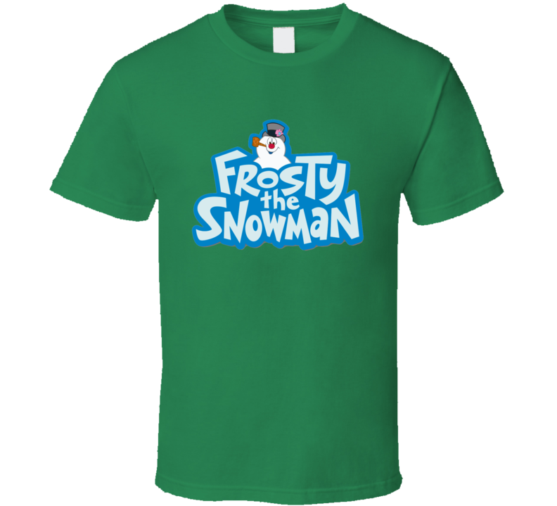 Frosty the Snowman Christmas Graphic T Shirt