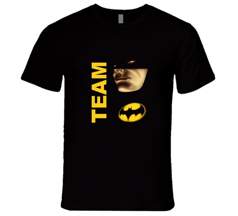 Team Batman Batman vs Superman Movie Graphic T Shirt