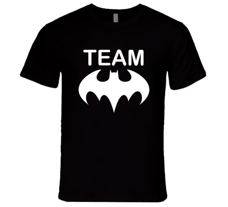 Team Batman Batman vs Superman movie Graphic Tshirt