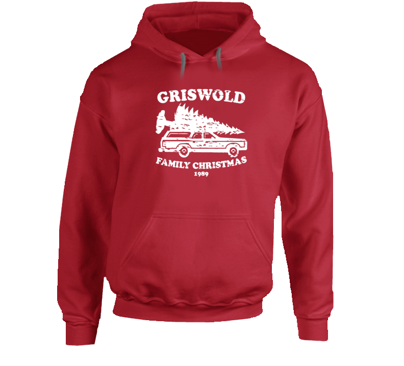 Griswold Family Christmas 1989 Movie Graphic hooded pullover