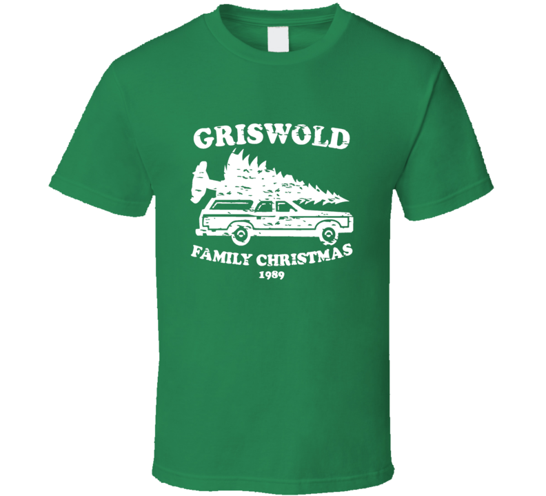 Griswold Family Christmas 1989 Christmas Vacation Graphic Tshirt