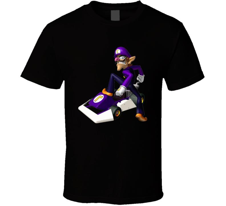 Mario Kart Super Mario waluigi Tshirt