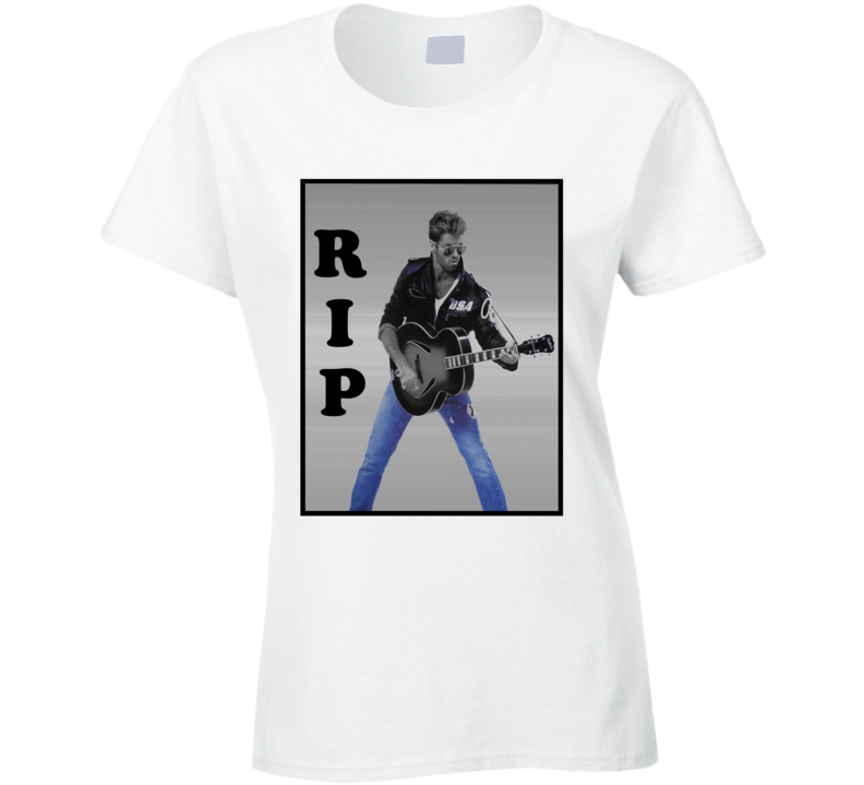 Rest in Peace RIP George Michael Graphic Tribute T Shirt