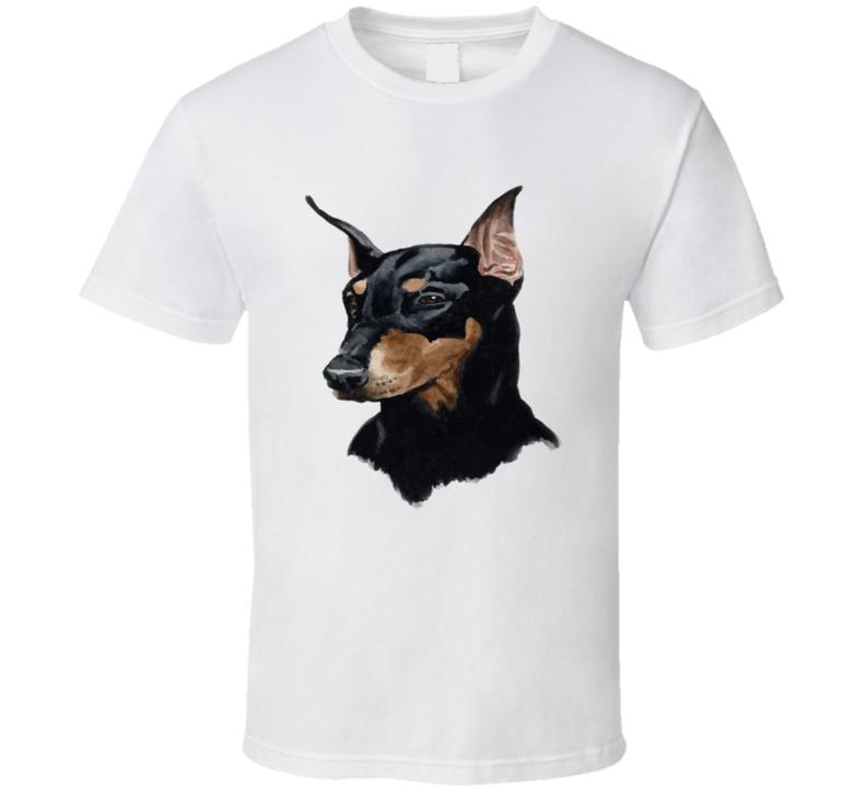 Doberman Pinscher Graphic Unisex Graphic Tshirt