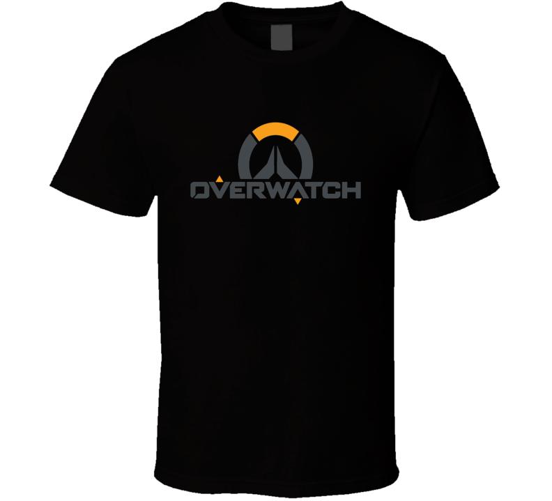 Overwatch Video Game Logo  Fan  T Shirt