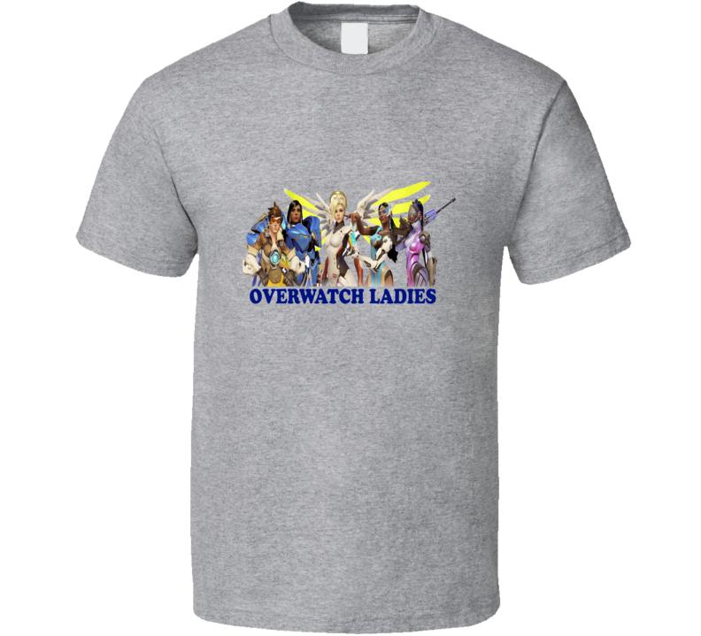 Overwatch Ladies Graphic Fandom T shirt