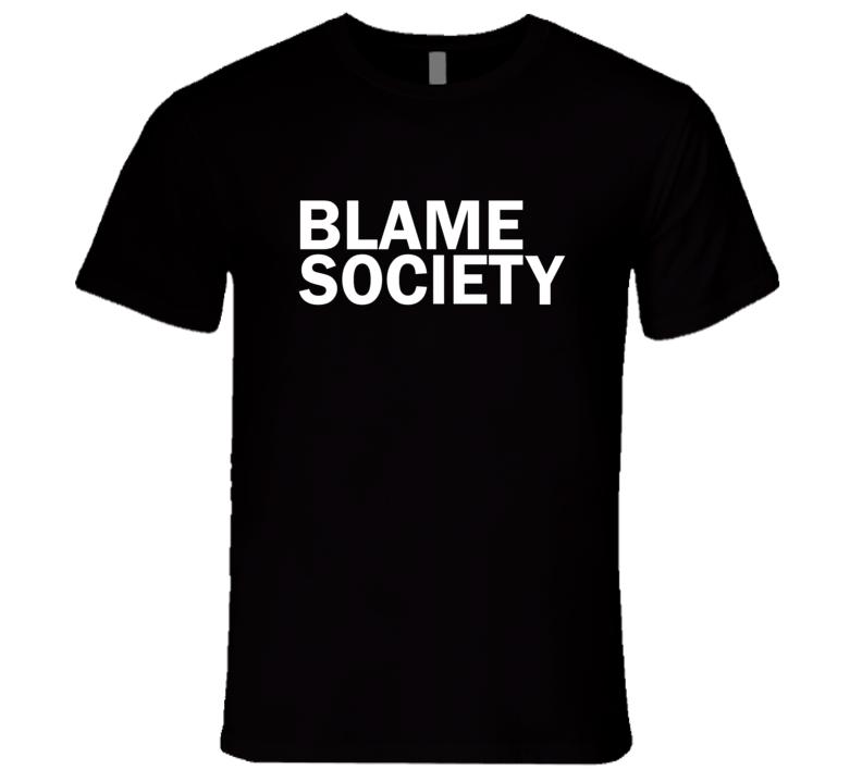 Blame Society Jay-Z Glamour magazine  inspired T shirt