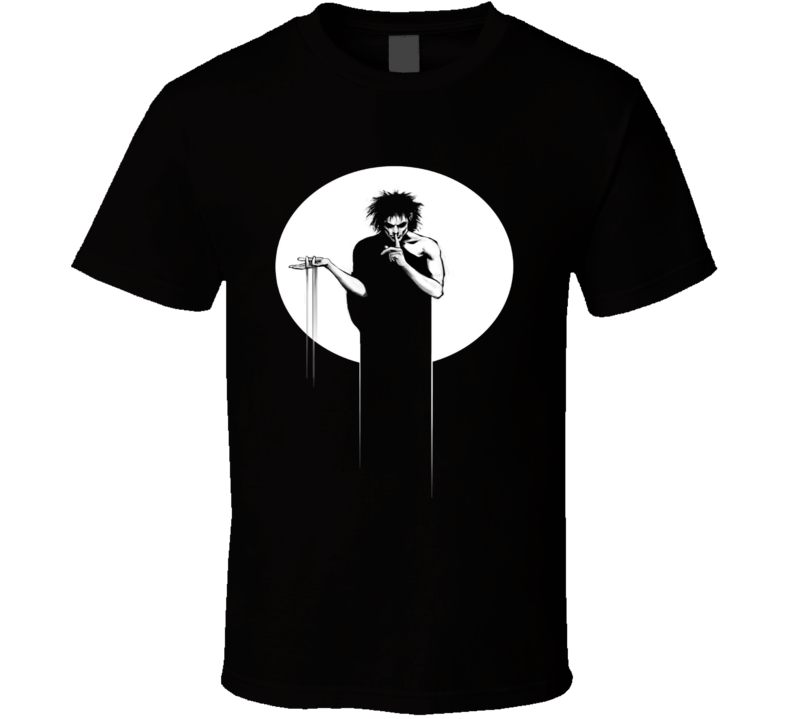 Death Sandman Neil Gaiman Graphic T Shirt