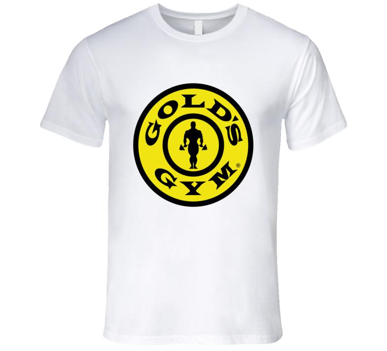 Gold's Gym Logo Graphic Tshirt