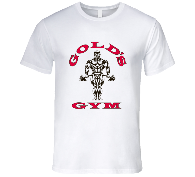 Gold's Gym New Logo Grahpic T Shirt