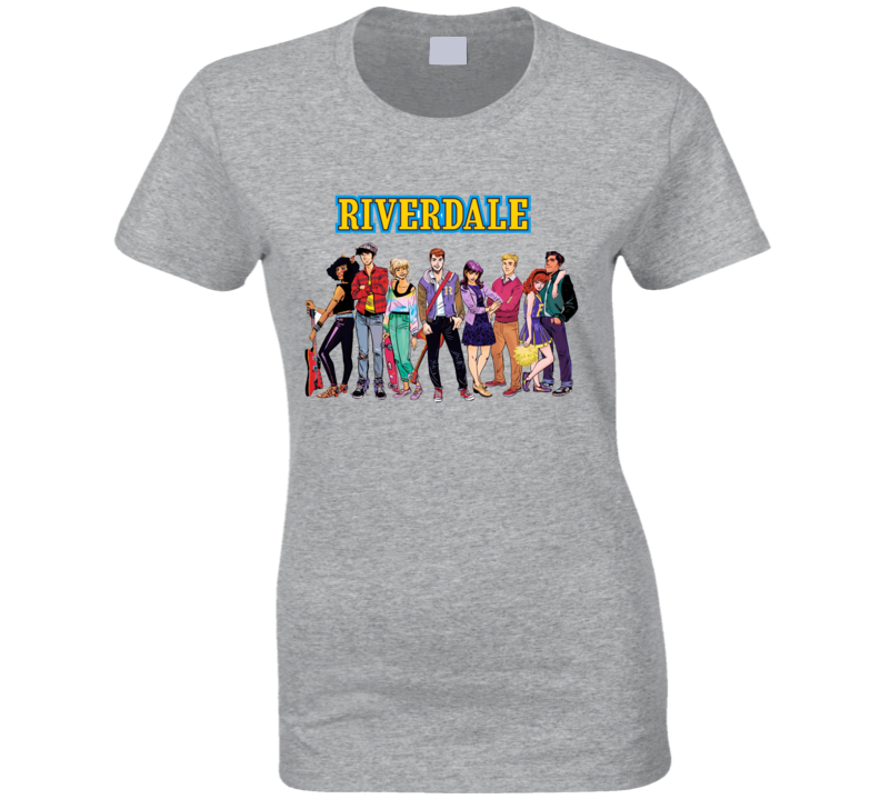 Archie's Riverdale Characters Graphic T Shirt