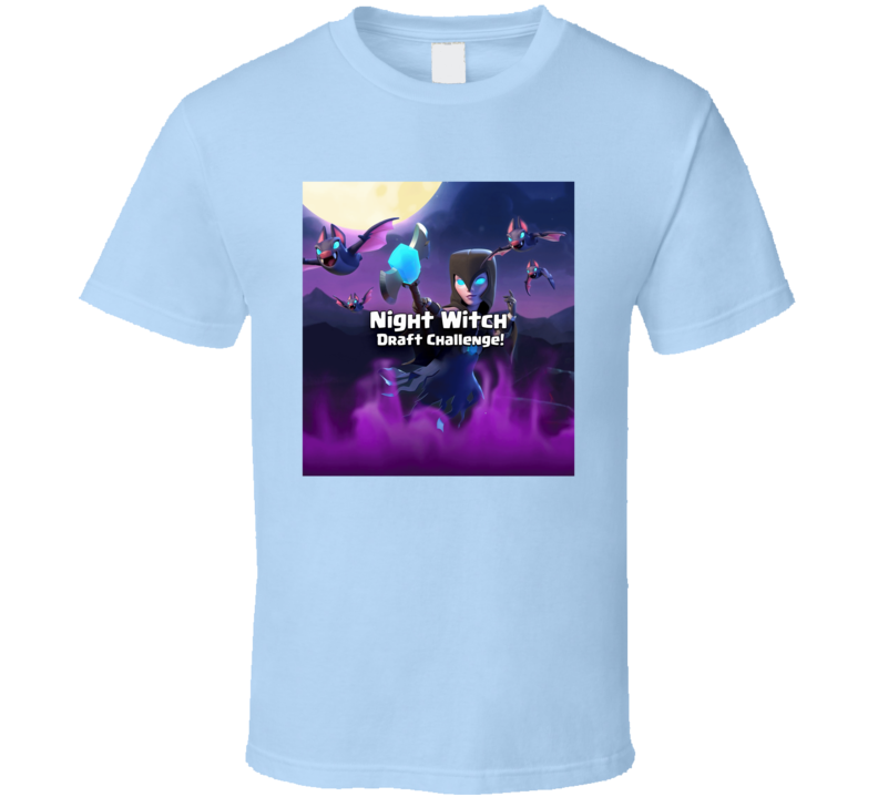 Night Witch Draft Challenger Graphic T Shirt