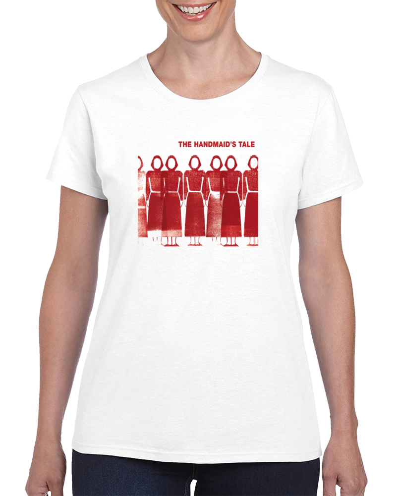 The Handmaid's Tale Book Cover Graphic T Shirt