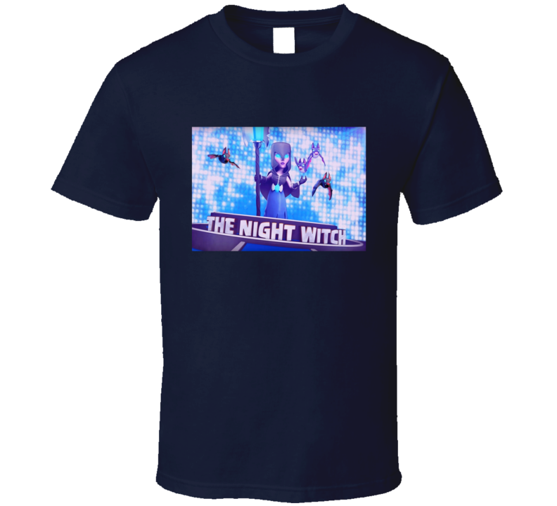 Night Witch Clash Of Clans Graphic T Shirt