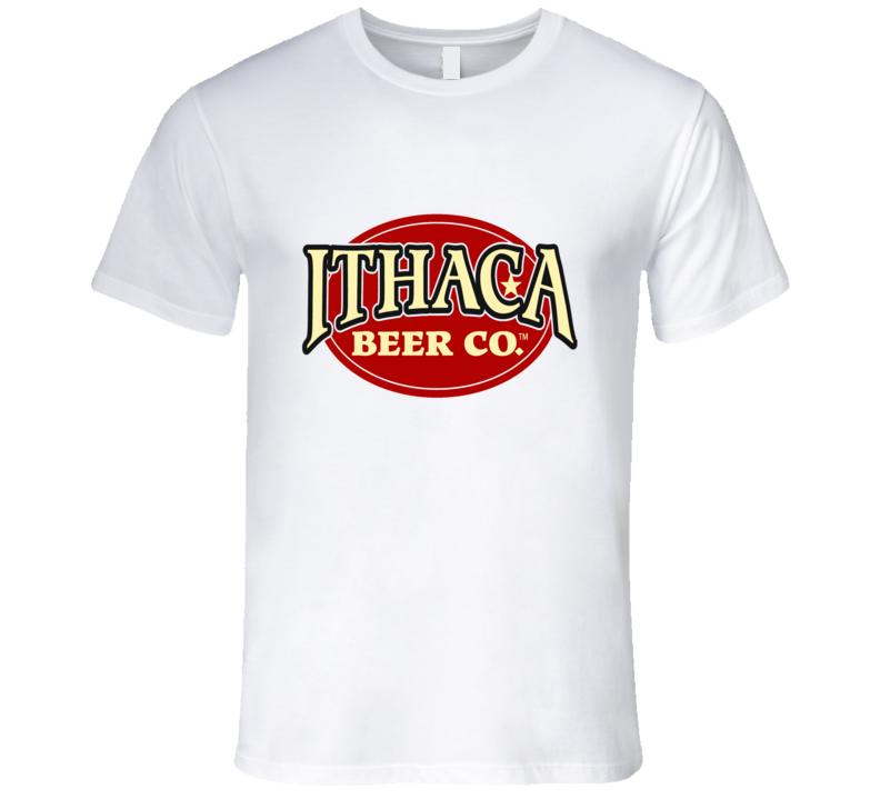 Ithaca Beer Company Logo Graphic Tshirt