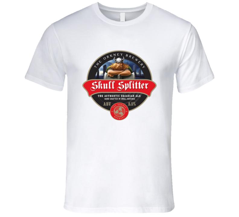 Skull Splitter Orcadian Ale Graphic Tshirt