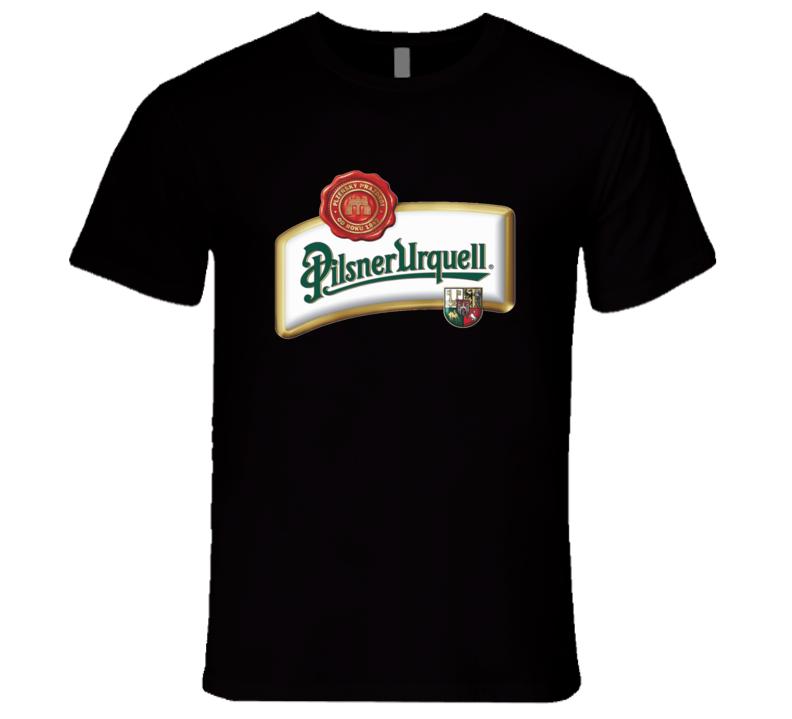 Pilsner Urquell Beer Logo Graphic Tshirt