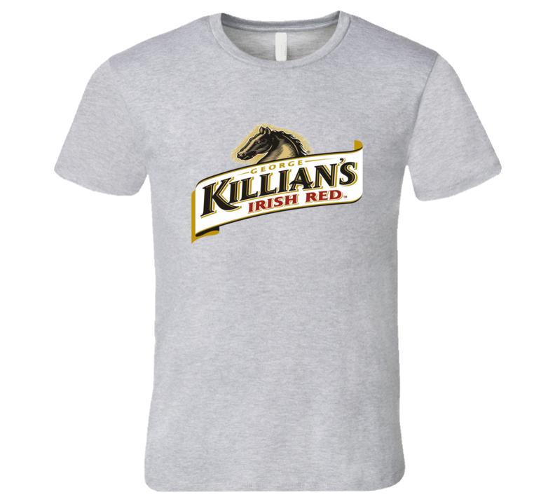 Killians Irish Red Beer Logo Graphic Tshirt