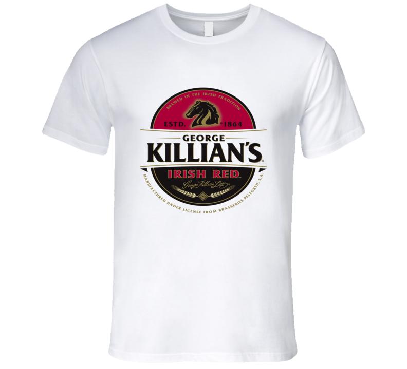 Killians Irish Red Beer Label Graphic Tshirt