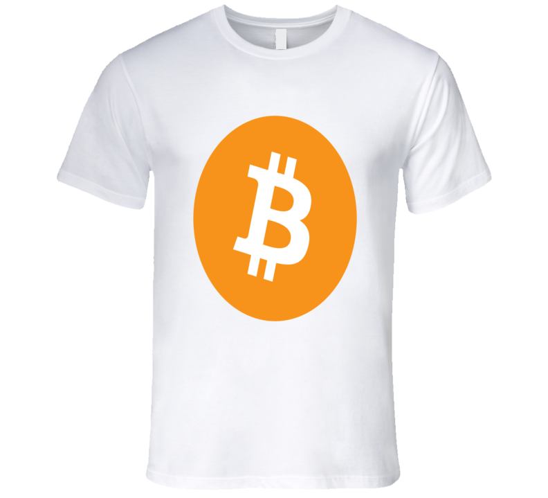 Bitcoin Logo Graphic Thsirt  T Shirt