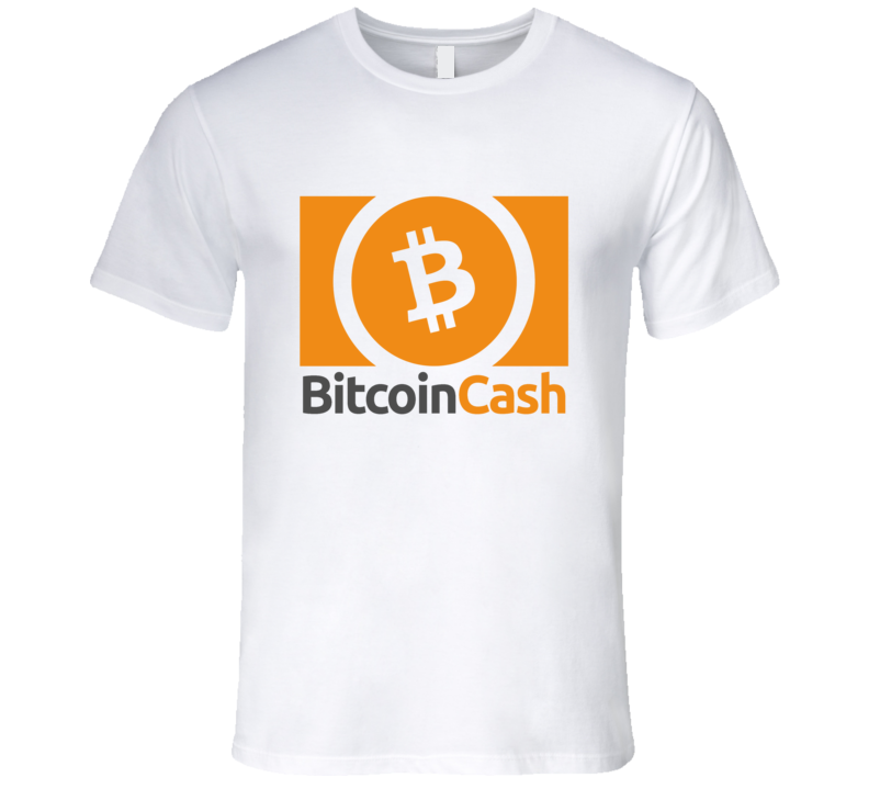 Bitcoin Cash Logo Graphic Tshirt