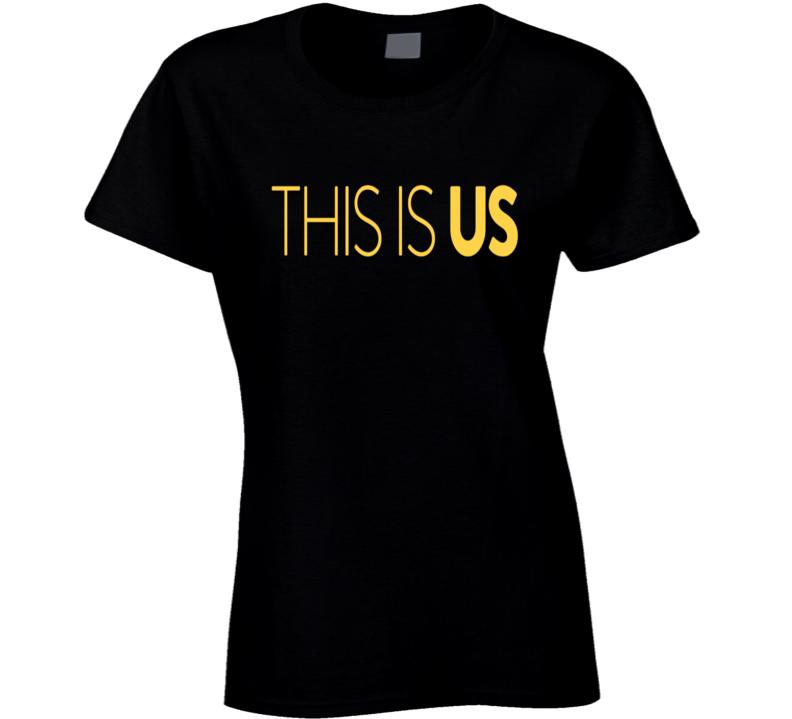 This Is Us Logo Graphic Fan Tshirt