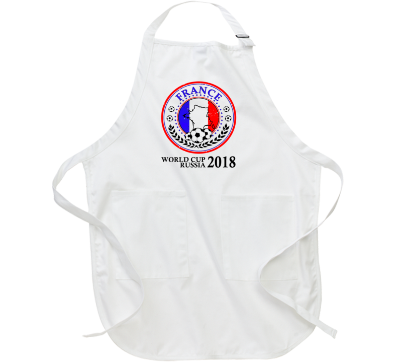 World Cup Russia Team France Champions Apron