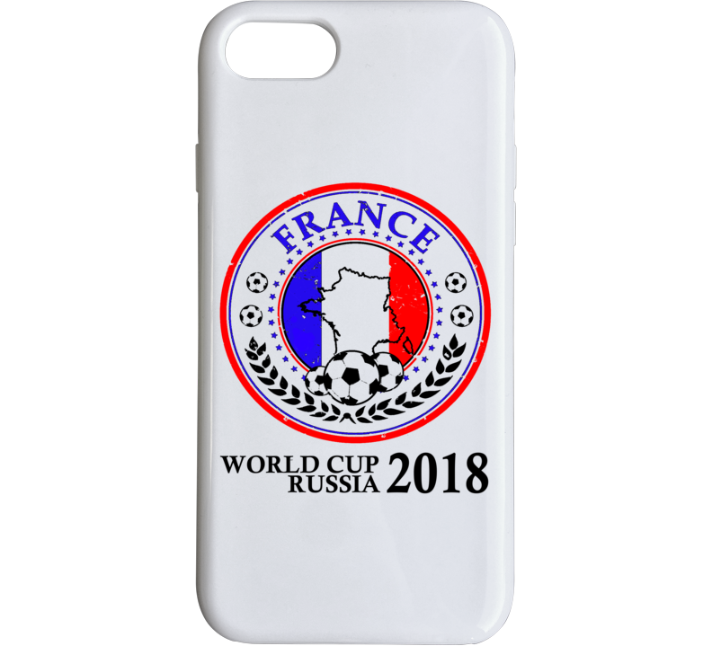 World Cup Russia 2018 France Champions  Phone Case