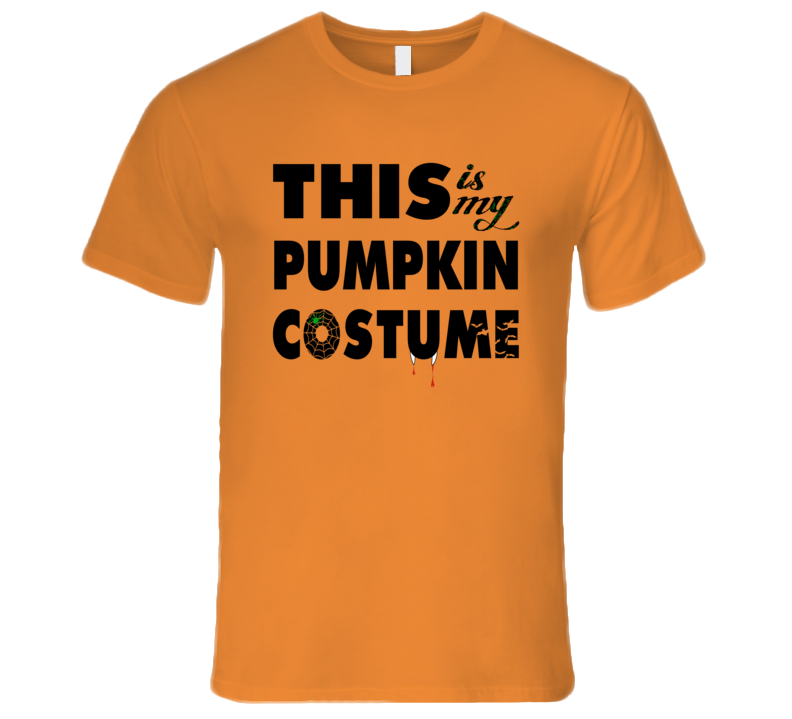 This Is My Pumpkin Costume Tshirt