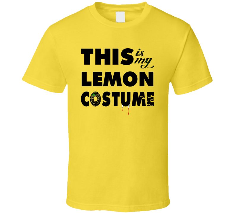 This Is My Lemon Costume Halloween Tshirt