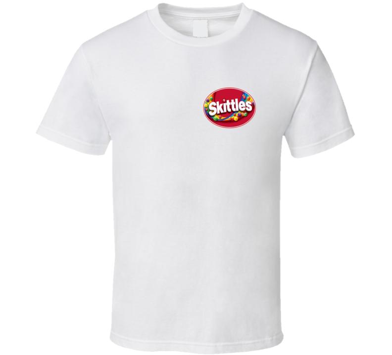 Skittles Candy Logo T Shirt