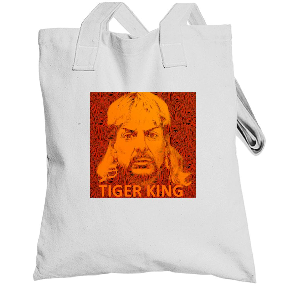 Joe Exotic Tiger King Fan Tote Bag Totebag