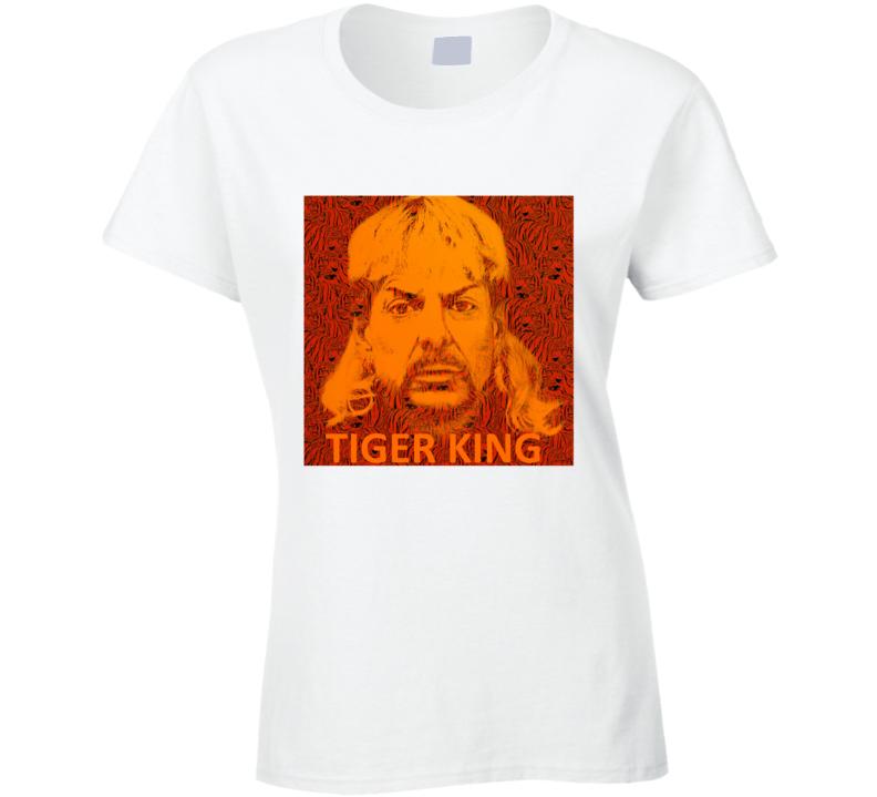 Joe Exotic Tiger King Fan Tote Bag Ladies T Shirt