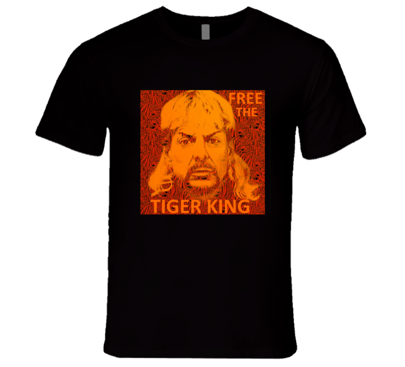 Free Joe Exotic Free The Tiger King Fan Support T Shirt
