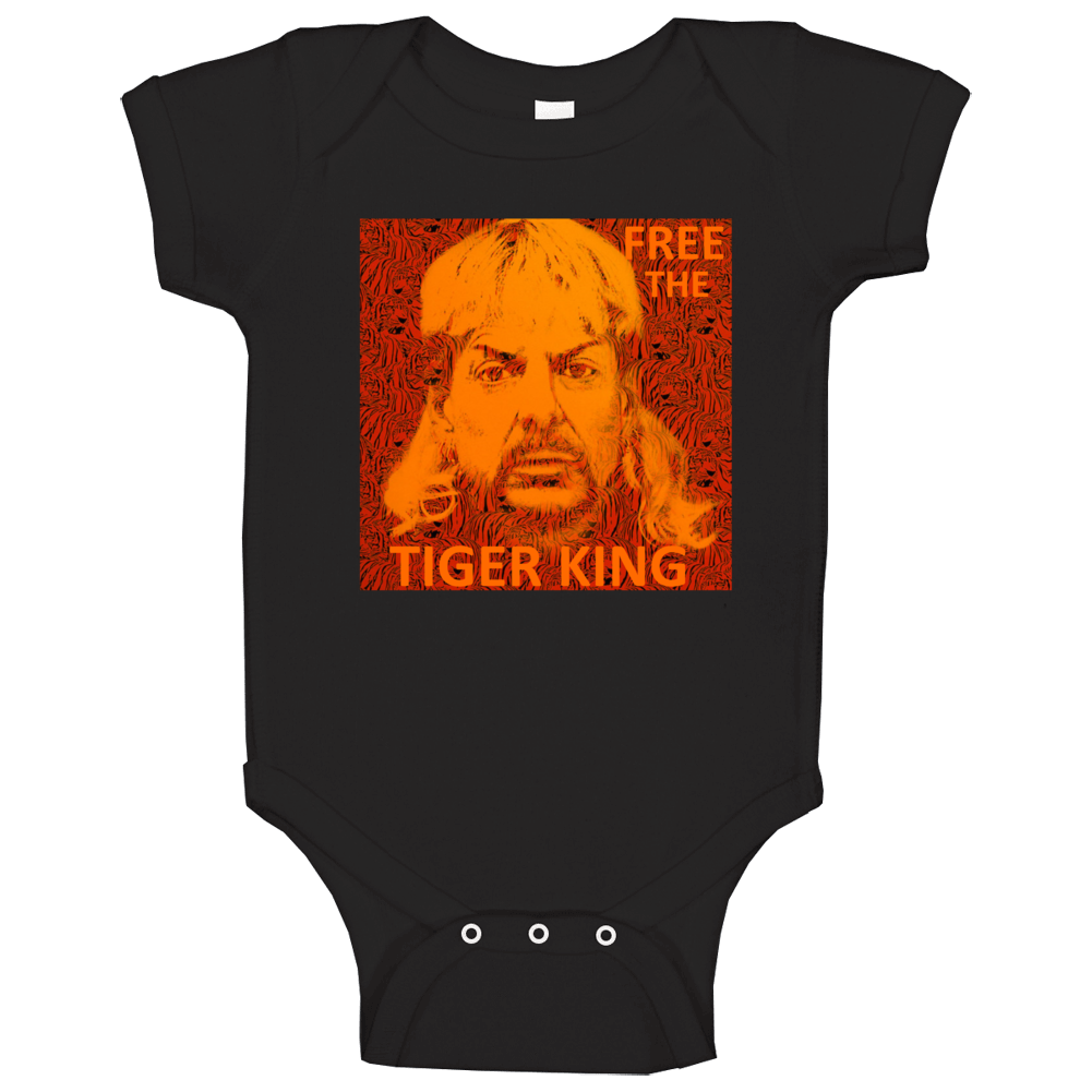 Free Joe Exotic Free The Tiger King Fan Support Baby One Piece